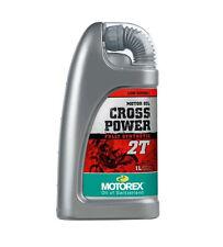 MOTOREX Cross Power Motorcycle Racing 2 Stroke 2t Engine Oil 1l Fully Synthetic