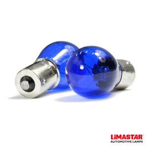BA15s 382 P21W Xenon White DRL Side Halogen Reverse Bulbs 6000k (PAIR)