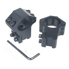 Dovetail 11mm Mount Dia 30mm Ring  QD Mount for Scope Rifle  flashlight
