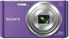 Sony DSC-W 830 V Kompaktkamera AV-Anschluss USB 2.0 20,1 MP LCD-Display violett