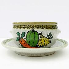 Vintage Retro 1970s Marzi Remy Soup Bowl Vegetables
