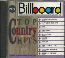 BILLBOARD TOP COUNTRY HITS CD - 1963 - BRAND NEW