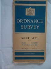 "Ordnance Survey 2.5"" Map SP62 Marsh Gibbon 1951 Launton Edgcott Grendon Underwod"