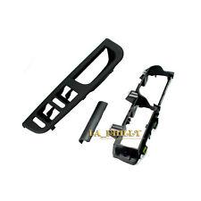 Black Front Left Switch Bezel+Handle Trim+Bracket For VW Jetta Golf Bora GTI MK4