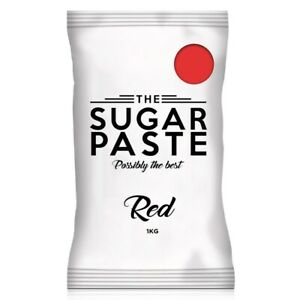 THE SUGAR PASTE™ Red Sugarpaste (250G - 6KG)