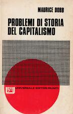 DOBB PROBLEMI DI STORIA DEL CAPITALISMO ed. 1972 editori riuniti