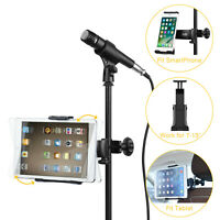 Mic Stand Microphone Holder Car Headrest Mobile Phone / Tablet / Bracket Mount