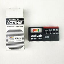 DURACELL Activair Hearing Aid Battery Tester