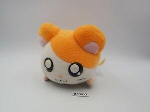 "Hamtaro Hamster B1907 Laying Plush 5"" Vibraing WORK Toy Doll Japan Epoch"