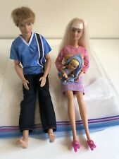Barbie From Krissy Stroll N Play Set & Krissy Doll + Ken Doll Jointed Arms