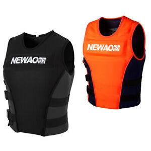Newao Adult Kids Life Jackets Neoprene Buoyancy Aid Vest Swim Ski Sailing Vest