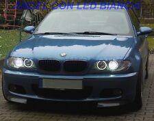FARI ANGEL EYES NERI O CROMO BMW SERIE 3 E46 COUPE/CABRIO RESTYLING 2003 AL 2006