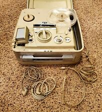 VINTAGE Revere T-2000 Reel To Reel Magnetic Tape Recorder w Microphone and cords