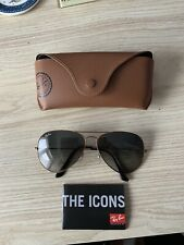 Genuine Rayban Aviator Sunglasses Excellent Condition