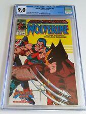 Marvel Comics Presents #42 (1990) CGC 9.0 WP Wolverine Wonder Man Enchantress