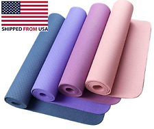 Fitness Non-Slip Foam Exercise Yoga Mat High Density Anti-Slip Anti-Tear Texture