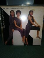 Pointer Sisters ~Black & White  ~  Vinyl LP, 1981 Planet