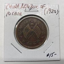 ND (1920) CHINA REPUBLIC 10 CASH