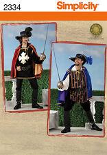 S 0815 - S 2334 Patron déguisement D'Artagnan Mousquetaire