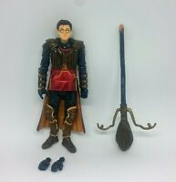 Harry Potter Quidditch action figure with broom and spare hands toy popco Hogwar