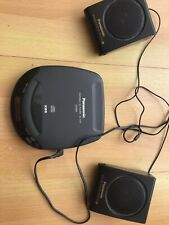 Panasonic  Personal Portable CD Player SL-S118. + MASH. XBS. With Speakers