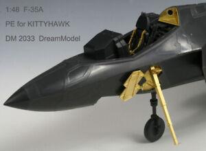 1/48 PE for F-35A KITTYHAWK, DreamModel DM2033