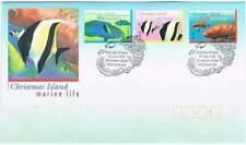 Christmas Island 1997 FDC 429-431 - Vissen / Fish