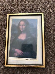 Antique Mona Lisa Print LA JOCONDE