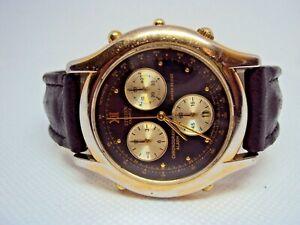 Vintage Men's Chronograph Citizen Quartz 3510-Y61175 West Germany 1980 s.