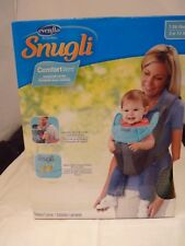 Evenflo Snugli Comfort Vent Soft Front Carrier - Grey & Turquoise Brand new