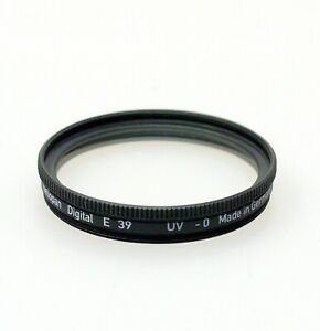 Heliopan UV Protection Filter. 39mm-105mm thread sizes. Brand New