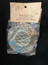 Vintage Miss REVLON Style DOLL HAT New In Package FLOWERS Blue Bow Ribbon