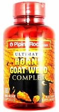 Ultimate Horny Goat Weed Complex Maca Yohimbe Tribulus Male Enhancement Capsules