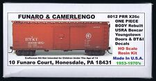 Funaro F&C 8012  DT&I Boxcar  DETROIT TOLEDO IRONTON  X26c PRR Youngstown  1-Pc