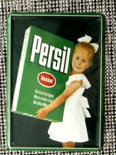 Blechpostkarte, 14,5 x 10 cm, PERSIL, Waschmittel, Henkel, wie neu,  top -44-