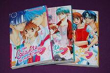 LES GEANTS DE MON COEUR - Takako Shigematsu - Taifu Comics - Intégrale N° 1 à 3