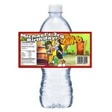 20 el CHAVO BIRTHDAY PARTY FAVORS WATER BOTTLE LABELS WRAPPERS ~ Personalized