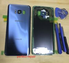 Rear Glass Back Cover Panel Camera Frame For Samsung Galaxy S8 G950 Blue Tools