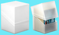 ULTIMATE GUARD BOULDER FROSTED Standard Size DECK CASE 100+ NEW Card Storage Box