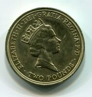 Old Round Style Design 2 British Pound Coin Year 1994 Bank of England