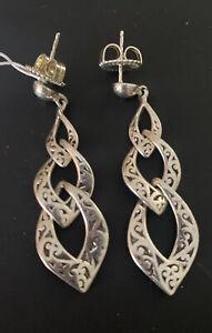 New Lois Hill sterling silver earrings $185.00