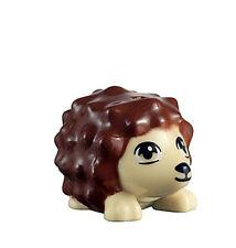 LEGO NEW TAN HEDGEHOG Reddish Brown Pet Cute Animal Figure Minifig Minifigure