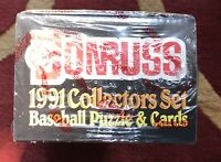 1991 Donruss Factory Sealed Baseball Card Set W/ Studio Preview Griffey Jr