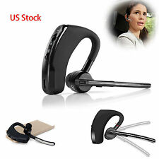 Universal Bluetooth HD Stereo Headset Earpiece for IOS& Android PC Cel