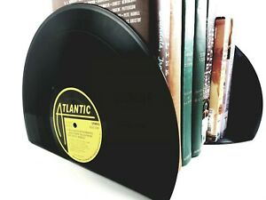 Music Décor Bookends. Vinyl Record Bookends for the music enthusiast.