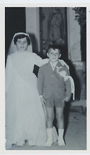 Roberto & Albertina Benigni  Vintage silver print  Tirage argentique  16x28