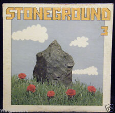RARE ROCK'N'ROLL PROMO: STONEGROUND 3 ~ HEAVY HIPPIE PSYCH BLUES WLP 1A 1B PRESS