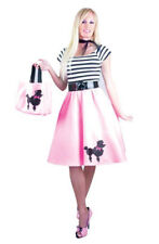 PINK POODLE DRESS ADULT HALLOWEEN COSTUME X-SMALL