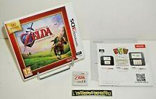 ++ jeu nintendo 3DS the legend of ZELDA ocarina of time 3D ++