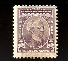 1927 Canada Stamp 144! Laurier/ Confederation! F